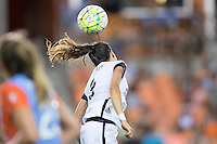 Houston, TX - Saturday July 16, 2016: Nadia Nadim during a regular season National Women's Soccer League (NWSL) match between the Houston Dash and the Portland Thorns FC at BBVA Compass Stadium.