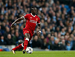 Liverpool's Sadio Mane in action during the Champions League Quarter Final 2nd Leg match at the Etihad Stadium, Manchester. Picture date: 10th April 2018. Picture credit should read: David Klein/Sportimage