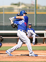 Austin Gallagher / Los Angeles Dodgers 2008 Instructional League..Photo by:  Bill Mitchell/Four Seam Images