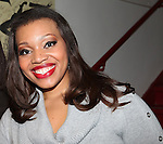 Carmen Ruby Floyd backstage at Encores! 'Cotton Club Parade' at City Center in New York City on 11/17/2012