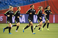 USWNT Training and Press Conference, June 29, 2015