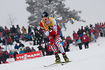 HOLMENKOLLEN, OSLO, NORWAY - March 16: Mario Seidl of Austria (AUT) during the cross country 15 km (2 x 7.5 km) competition at the FIS Nordic Combined World Cup on March 16, 2013 in Oslo, Norway. (Photo by Dirk Markgraf)