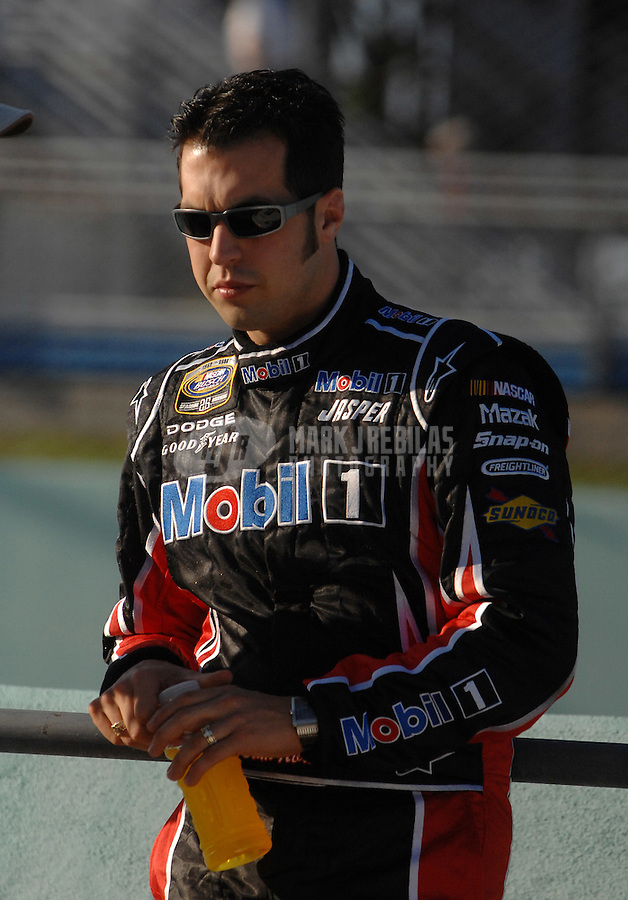 Nov. 18, 2006; Homestead, FL, USA; Nascar Busch Series driver Sam Hornish Jr (39) during the Ford 300 at Homestead Miami Speedway. Mandatory Credit: Mark J. Rebilas