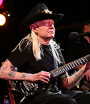 "New York, January 10, 2012: Singer / Musician Johnny Winter peforms ""BB King's"" on January 10, 2012 in New York City."
