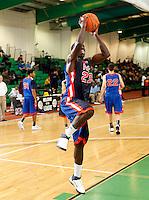 April 9, 2011 - Hampton, VA. USA;  Glenn Feidanga participates in the 2011 Elite Youth Basketball League at the Boo Williams Sports Complex. Photo/Andrew Shurtleff