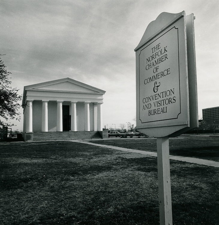 UNDATED..Downtown        .Old Norfolk Academy.Norfolk Chamber of Commerce and Convention and Visitors Bureau...NEG#..