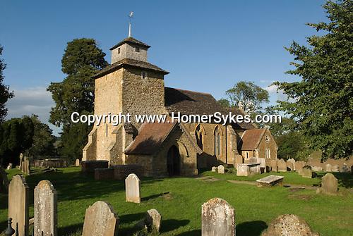 Wooton Parish Church of St John the Evangalist. Wotton, Surrey Uk
