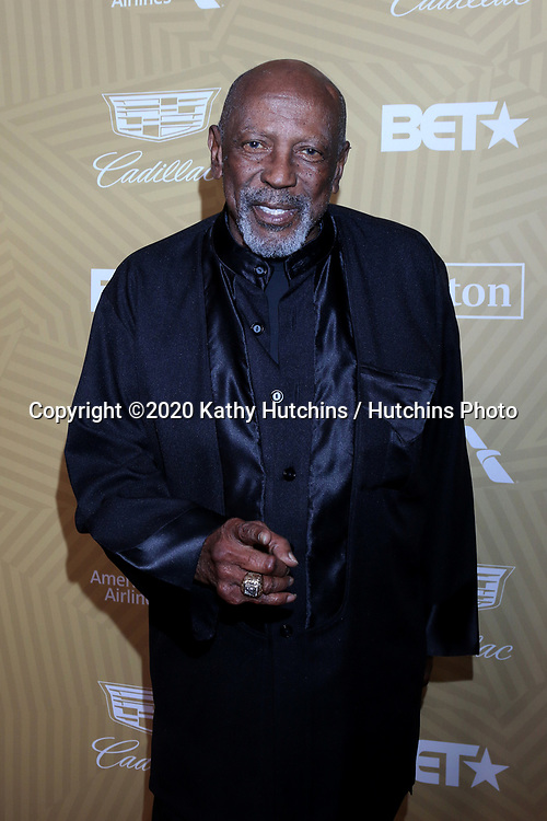 LOS ANGELES - FEB 23:  Lou Gossett Jr at the American Black Film Festival Honors Awards at the Beverly Hilton Hotel on February 23, 2020 in Beverly Hills, CA