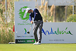 Seve Benson (ENG) tees off on the 7th hole during Day 2 Friday of the Open de Andalucia de Golf at Parador Golf Club Malaga 25th March 2011. (Photo Eoin Clarke/Golffile 2011)