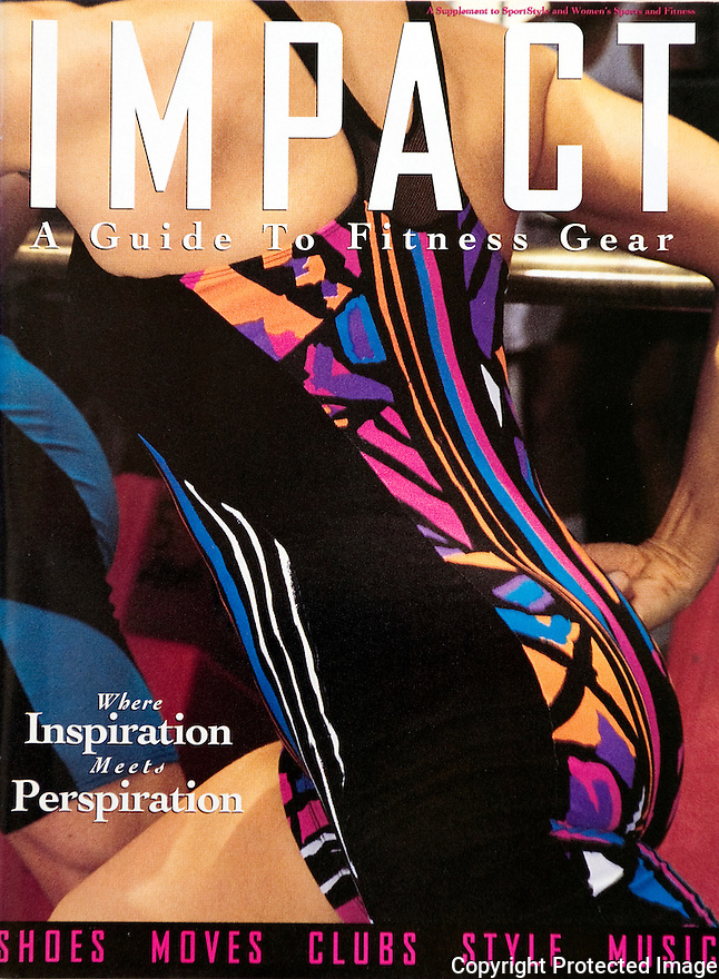 Impact Fitness Guide Magazine Cover