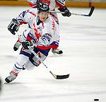 Deutscher Eishockey Pokal 2003/2004 , Halbfinale, Arena Nuernberg (Germany) Nuernberg Ice Tigers - Koelner Haie (1:3) Yan Stastny (Nuernberg) am Puck
