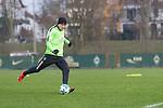 14.01.2018, Trainingsgelaende, Bremen, GER, 1.FBL, Training SV Werder Bremen<br /> <br /> im Bild<br /> Aron J&oacute;hannsson / Johannsson (Werder Bremen #9), <br /> <br /> Foto &copy; nordphoto / Ewert