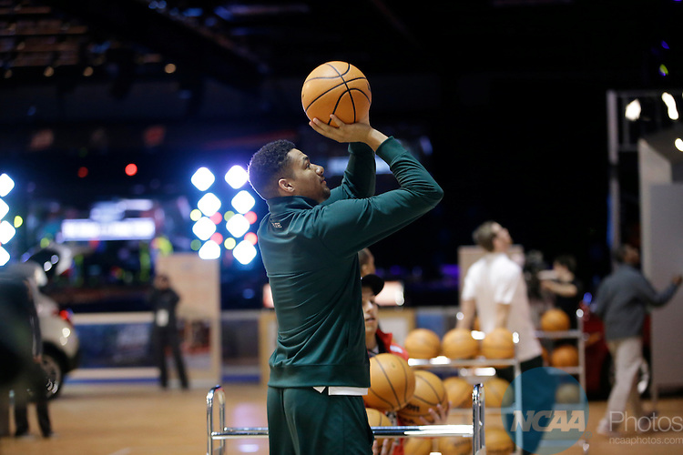 02 APR 2015:  The Salute Student Event takes place at Fan Fest as part of the festivities surrounding the 2015 NCAA Men's DI Basketball Final Four Tournament held at Lucas Oil Stadium in Indianapolis, IN.  AJ Mast/NCAA Photos