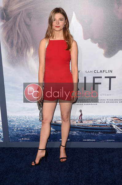"Stefanie Scott<br /> at the ""Adrift"" World Premiere, Regal Cinemas L.A. Live, Los Angeles, CA 05-23-18<br /> David Edwards/DailyCeleb.com 818-249-4998"