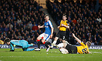 Jason Holt causing trouble in the box