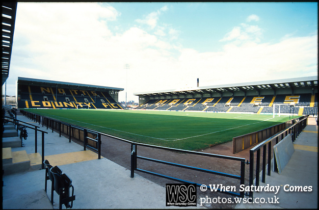 Meadow Lane home of Notts County FC. Photo by Tony Davis