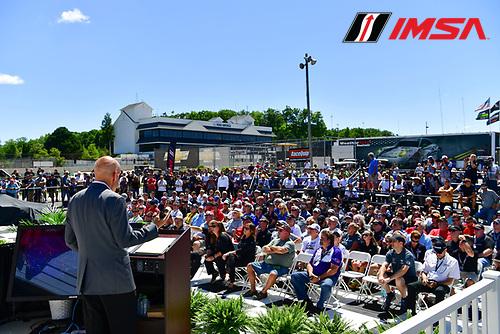 5-7 August, 2016, Elkhart Lake, Wisconsin USA<br /> 2017 IMSA series schedule announcement<br /> &copy;2016, Richard Dole<br /> LAT Photo USA