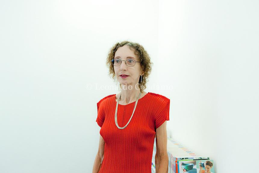 Joyce Carol Oates, writer,.Milanesiana 2010-  © Leonardo Cendamo