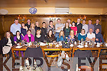 Party time for Kostal workers from Abbeyfeale enjoying a belated Christmas night out in Leen's Hotel, Abbeyfeale last Friday night..