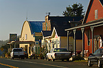 Small rural coastal town of Elk, Mendocino County, California