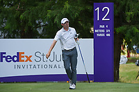 Matt Fitzpatrick (ENG) watches his tee shot on 12 during round 4 of the WGC FedEx St. Jude Invitational, TPC Southwind, Memphis, Tennessee, USA. 7/28/2019.<br /> Picture Ken Murray / Golffile.ie<br /> <br /> All photo usage must carry mandatory copyright credit (© Golffile | Ken Murray)