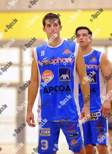 2013-09-10 / Basketbal / seizoen 2013-2014 / Kangoeroes Willebroek / Luke Loucks<br /><br />Foto: Mpics.be