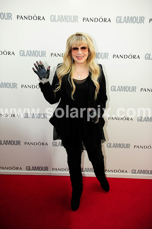 **ALL ROUND PICTURES FROM SOLARPIX.COM**                                             **WORLDWIDE SYNDICATION RIGHTS**                                                                                  Caption: Glamour Woman Of The Year Awards 2011, Held at Berkeley Square, London, UK. 7 June 2011                                                                        This pic: Stevie Nicks                                                                                      JOB REF: 13527 MZF       DATE: 07_06_2011                                                           **MUST CREDIT SOLARPIX.COM OR DOUBLE FEE WILL BE CHARGED**                                                                      **MUST AGREE FEE BEFORE ONLINE USAGE**                               **CALL US ON: +34 952 811 768 or LOW RATE FROM UK 0844 617 7637**