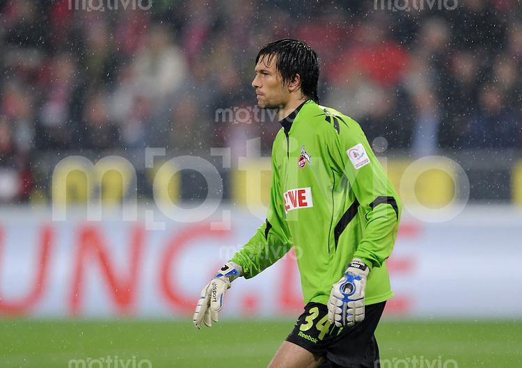 FUSSBALL   1. BUNDESLIGA   SAISON 2010/2011  8. SPIELTAG    15.10.2010 1. FC Koeln - Borussia Dortmund       Torwart Miro Varvodic (1. FC Koeln)