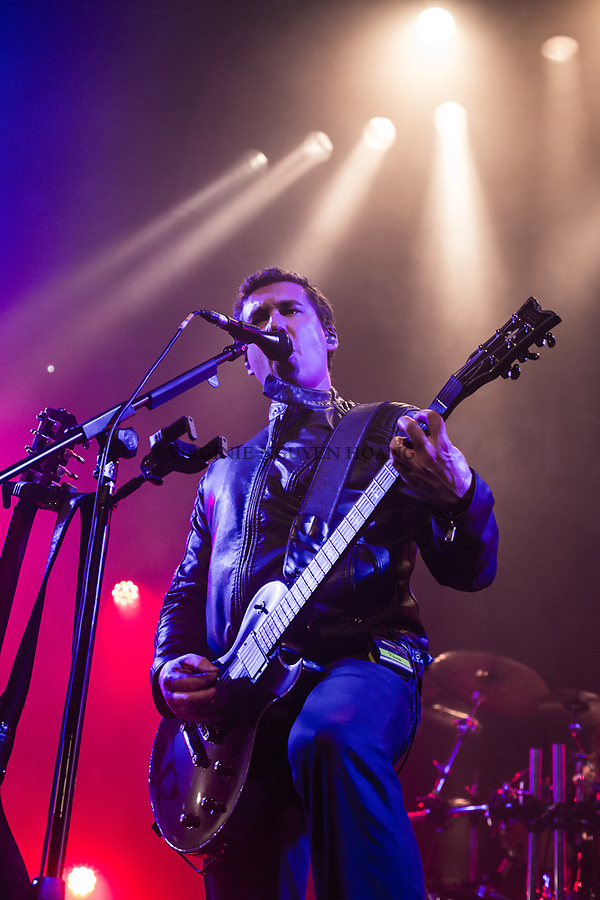 Brussels, Belgium: The Belgian group Ithilien is performing at the Botanique for the Belgian music festival Propulse, February 2018.