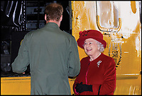 BNPS.co.uk (01202 558833)<br /> Pic: CrownCopyright/AirHistoricalBranch<br /> <br /> 2011 - HRH Prince William with the Queen at RAF Valley.<br /> <br /> A new book gives an intimate look behind the scenes of the Royal Flight and also the flying Royals.<br /> <br /> Starting in 1917 the book charts in pictures the 100 year evolution of first the King's Flight and then later the Queen's Flight as well as the Royal families passion for aviation.<br /> <br /> Author Keith Wilson has had unprecedented access to the Queen's Flight Archives to provide a fascinating insight into both Royal and aeronautical history.