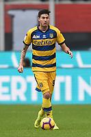 Alessandro Bastoni <br /> Milano 2-12-2018 Stadio San Siro Football Calcio Serie A 2018/2019 AC Milan - Parma Foto Image Sport / Insidefoto