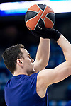 Kyle Kuric of FC Barcelona Lassa during Turkish Airlines Euroleague match between Real Madrid and FC Barcelona Lassa at Wizink Center in Madrid, Spain. December 13, 2018. (ALTERPHOTOS/Borja B.Hojas)