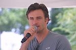 Joyce Becker's Soap Opera Festivals present Young and Restless' Daniel Goddard at Six Flags Hurricane Harbor on July 26, 2009 in Jackson, New Jersey. (Photo by Sue Coflin/Max Photos)