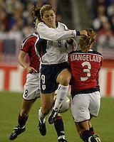 Mia Hamm v Ane Stangeland(Norway) 2003WWC USA/Norway quarter final