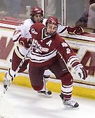 Brian Gibbons (BC - 17), Martin Nolet (UMass - 2) - The Boston College Eagles defeated the University of Massachusetts-Amherst Minutemen 6-5 on Friday, March 12, 2010, in the opening game of their Hockey East Quarterfinal matchup at Conte Forum in Chestnut Hill, Massachusetts.