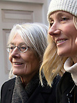 """Pic shows: Vanessa Redgrave and Joely Richardson<br /> Funeral of Roger Lloyd-Pack - """"Trigger"""" from Only Fools and Horses.<br /> <br /> Mourners arriving at the service at Actors Church in Covent Garden -<br /> <br /> <br /> <br /> <br /> Pic by Gavin Rodgers/Pixel 8000 Ltd"""