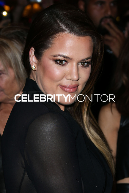 LAS VEGAS, NV, USA - OCTOBER 24: Khloe Kardashian arrives at Kim Kardashian's 34th Birthday Celebration held at TAO Las Vegas on October 24, 2014 in Las Vegas, Nevada, United States. (Photo by Xavier Collin/Celebrity Monitor)