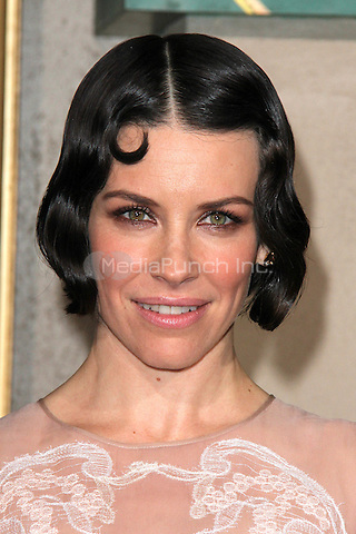 "HOLLYWOOD, CA - DECEMBER 9: Evangeline Lilly at the film premiere for ""The Hobbit: The Battle of the Five Armies "" L.A. at the Dolby Theater in Hollywood, CA. Credit: David Edwards/DailyCeleb/MediaPunch"