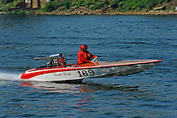 "169 ""Can't Wait"" (racing flatbottom ski boat)"