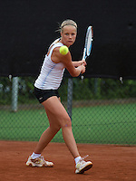 07-08-13, Netherlands, Rotterdam,  TV Victoria, Tennis, NJK 2013, National Junior Tennis Championships 2013, Nina Kruijer<br /> <br /> <br /> Photo: Henk Koster