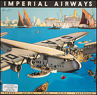 Imperial Airways archive comes to light.