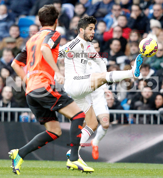 Real Madrid's Isco during La Liga match.January 31,2015. (ALTERPHOTOS/Acero) /NortePhoto<br />