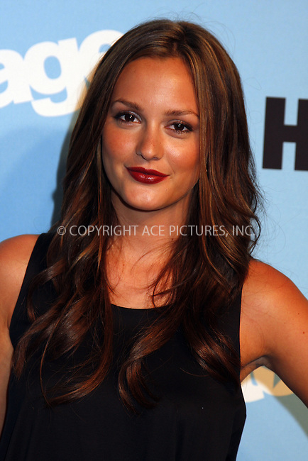 WWW.ACEPIXS.COM . . . . .  ....September 3, 2008. New York City.....Actress Leighton Meester attends the 'Entourage Season 5' Premiere held at the Ziegfeld Theater on September 3, 2008 in New York City.......Please byline: AJ Sokalner - ACEPIXS.COM.... *** ***..Ace Pictures, Inc:  ..Philip Vaughan (646) 769 0430..e-mail: info@acepixs.com..web: http://www.acepixs.com
