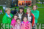 Lilly Tangney, Laura Looney, Sarah Looney, Gail McCarthy, Blathnaid McCarthy, Leslie McCarthy and Jacqueline Dodd watching avatar performing for Culture night at Siamsa Tire, Tralee on Friday evening.
