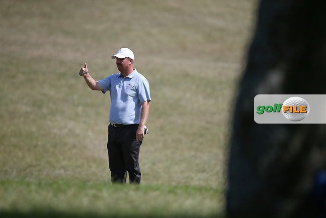 Ross McGowan (ENG) signals all is fine, during Round One of the Africa Open 2015 at the East London Golf Club, East London, Eastern Cape, South Africa. Picture:  David Lloyd / www.golffile.ie. 05/03/2015