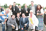 The Laurences Gang at the Bellewstown Races...Photo NEWSFILE/Jenny Matthews.(Photo credit should read Jenny Matthews/NEWSFILE)....This Picture has been sent you under the condtions enclosed by:.Newsfile Ltd..The Studio,.Millmount Abbey,.Drogheda,.Co Meath..Ireland..Tel: +353(0)41-9871240.Fax: +353(0)41-9871260.GSM: +353(0)86-2500958.email: pictures@newsfile.ie.www.newsfile.ie.FTP: 193.120.102.198.