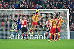 BILBAO.ESPAÑA.FÚTBOL.<br /> Partido de La Liga BBVA entre el Ath.Club y el Barça , a 01/12/2013.<br /> En la imagen :<br /> 17Mikel Riko (Athletic Bilbao)