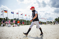 The riders walk the course for the Showjumping for the CCIO4*-S FEI Nations Cup Eventing. 2019 FRA-Le Grand Complet at Le Haras du Pin. Sunday 11 August. Copyright Photo: Libby Law Photography
