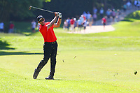 Romain Wattel on the 17th fairway during the BMW PGA Golf Championship at Wentworth Golf Course, Wentworth Drive, Virginia Water, England on 26 May 2017. Photo by Steve McCarthy/PRiME Media Images.