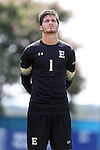28 August 2016: Elon's Matthew Jegier. The Elon University Phoenix played the University of San Diego Toreros at Koskinen Stadium in Durham, North Carolina in a 2016 NCAA Division I Men's Soccer match. USD won the game 2-1.